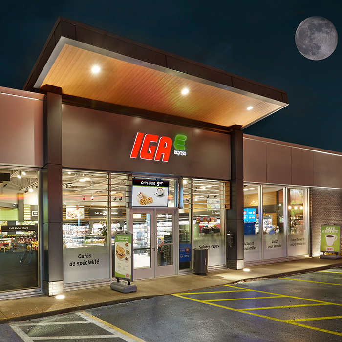 iga express store concepts at your service iga grocery store. Black Bedroom Furniture Sets. Home Design Ideas