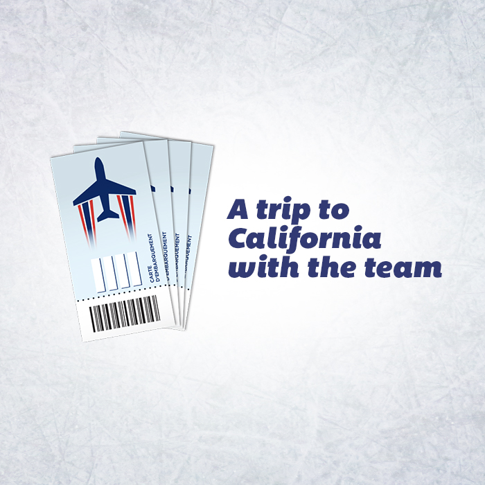 A trip to california with the team
