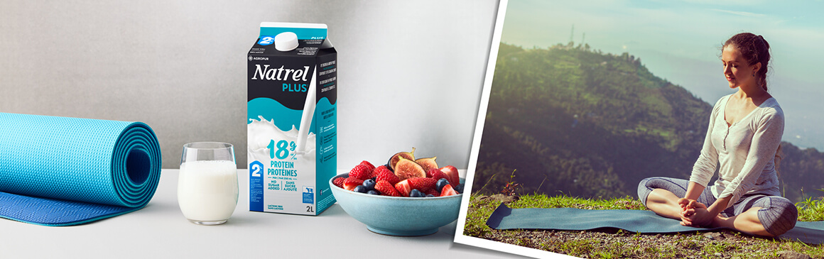 Natrel Invite you to explore the endless possibilities of dairy.
