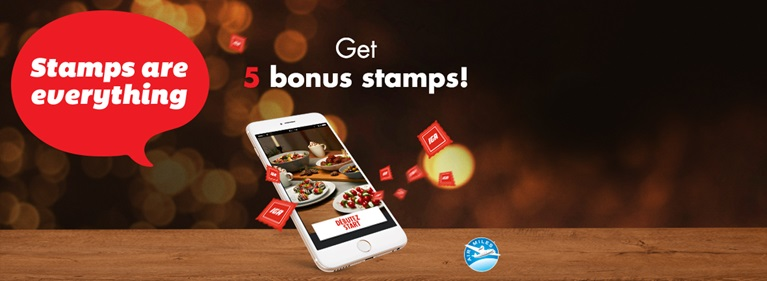 Don't wait any longer to download the MY IGA STAMPS app