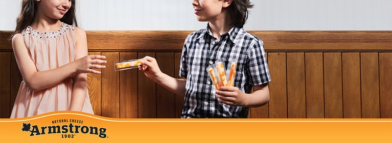 BACK-TO-SCHOOL WITH ARMSTRONG® CHEESE