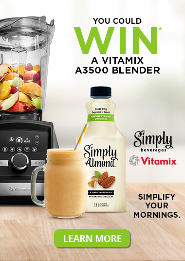 You could win a vitamix A3500 blender