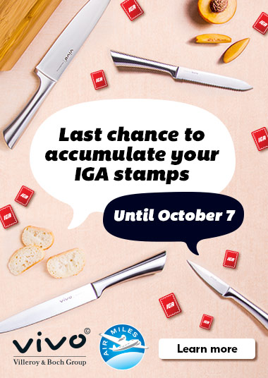 Last chance to accumulate your IGA stamps