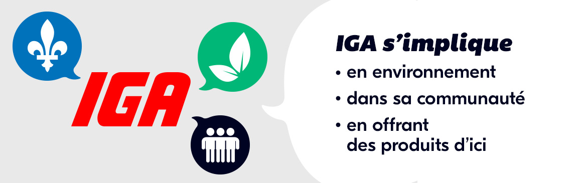 IGA s'implique