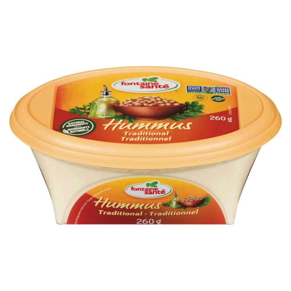 Hummus traditionnel Fontaine Santé