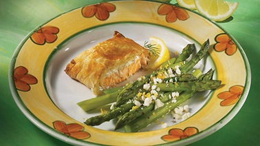 Asparagus with Feta and Lemon
