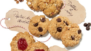 Surprise oatmeal cookies