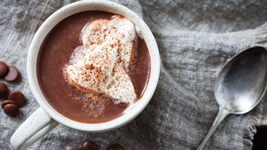 Ultra-creamy hot chocolate