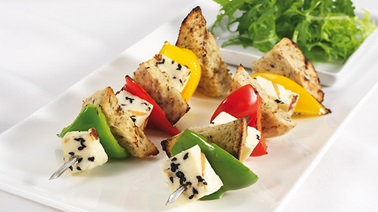 Gourmet Grilling Cheese Skewers