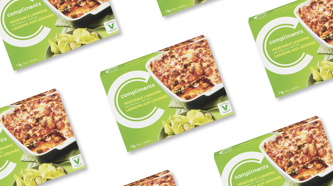Vegetable lasagna by Compliments