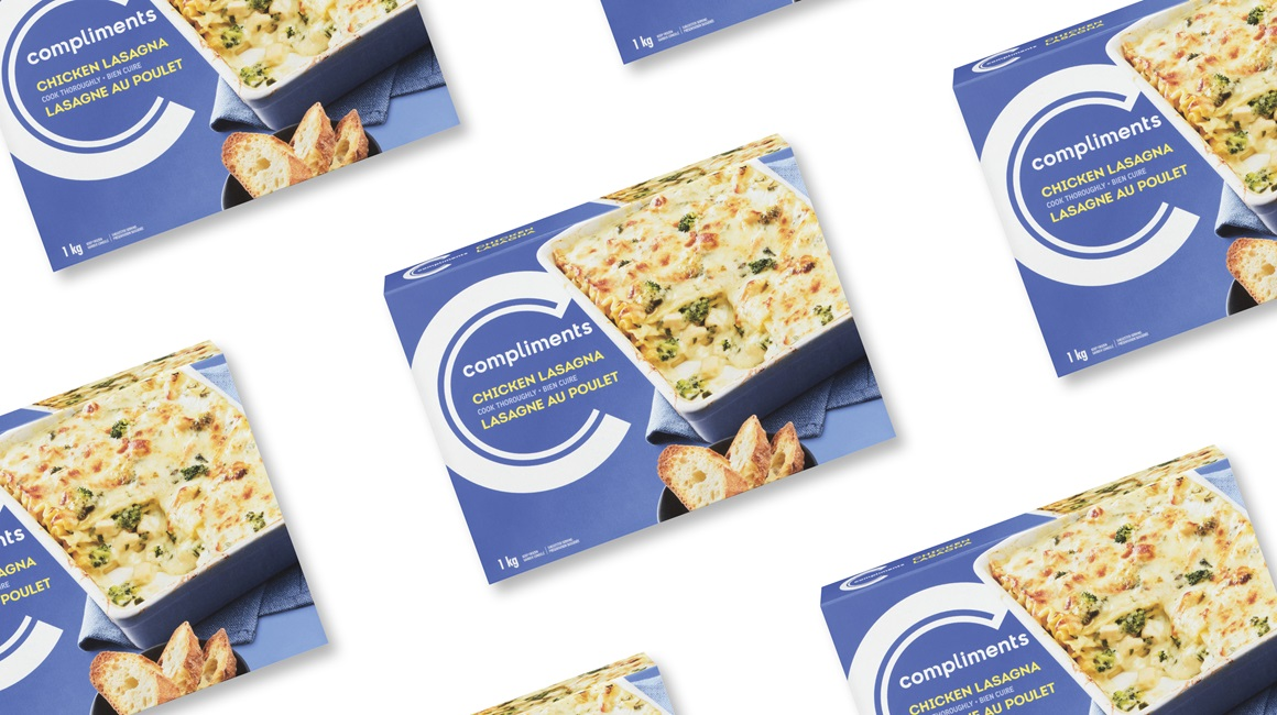 Chicken lasagna by Compliments