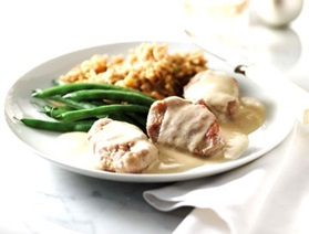 Pork Medallions with Maple Cream Sauce