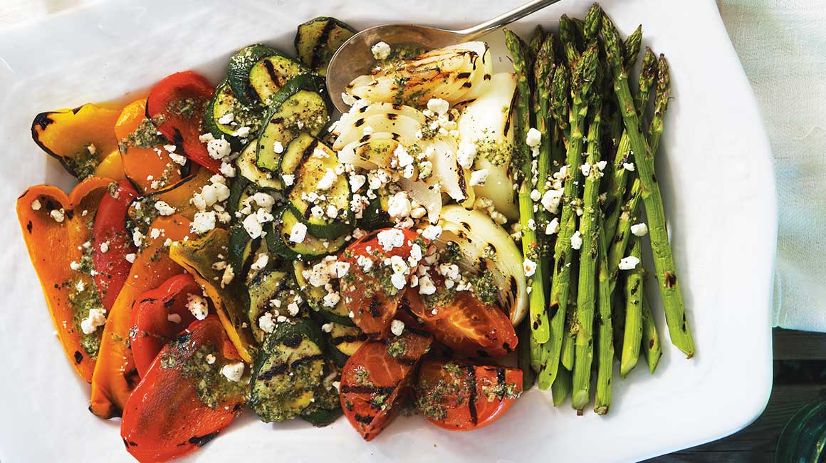 Grilled Summer Vegetable Platter Iga Recipes Easy Recipe Bbq Grill