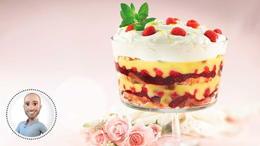 Lemon-raspberry trifle from Stefano Faita