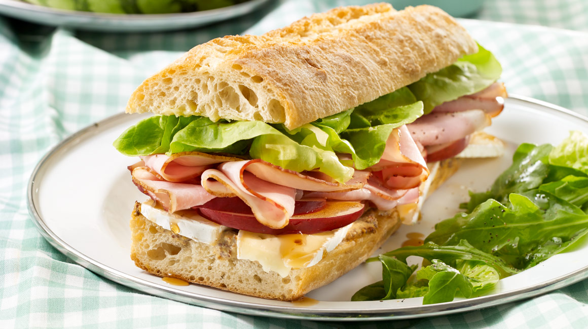 ham and cheese baguette from jos e di stasio iga recipes. Black Bedroom Furniture Sets. Home Design Ideas