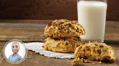 Orange-squash cookies from Stefano Faita