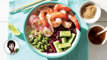 Shrimp bowl