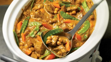 Veal curry