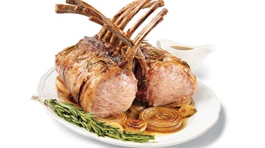 Nagano royal pork loin rack with flavoured honey glaze