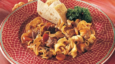 Veal Casserole with Pepper and Garlic