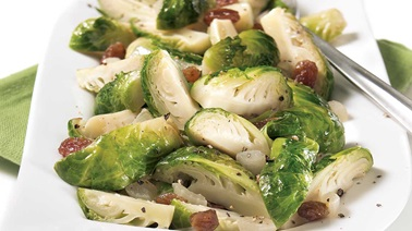Sweet 'n savoury Brussels sprouts