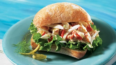 Lobster ciabattas