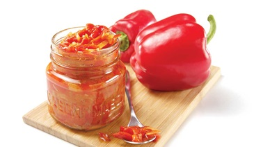 Pepper compote
