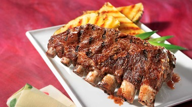 Pineapple back ribs