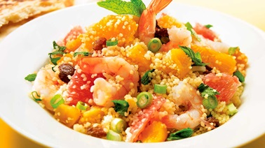 Shrimp and Citrus Couscous