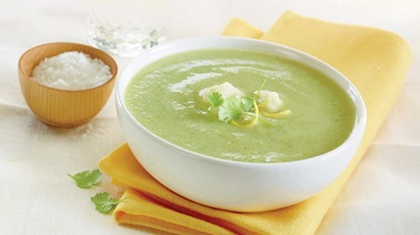 Cream of broccoli & cauliflower soup
