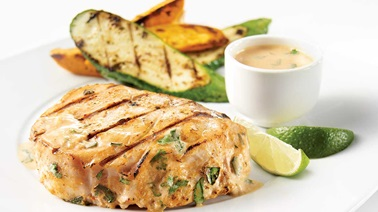 Barbecued Indian-Style Blue Marlin Steaks