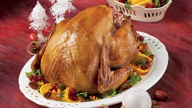 Turkey with pecans
