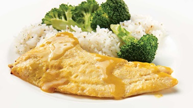 Honey-mustard grouper fillets