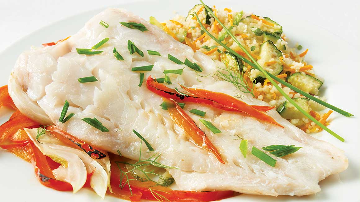 Cod Fillets with Fennel