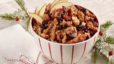 Genevieve O'Gleman's Apple and cranberry stuffing
