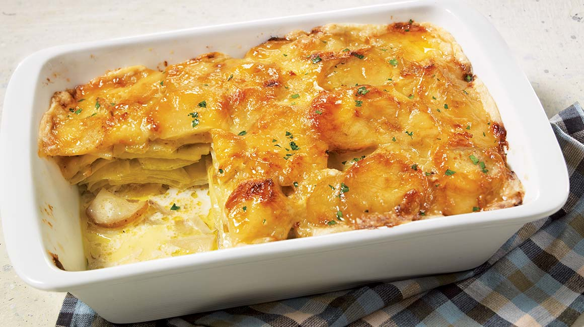 Irish scalloped potatoes
