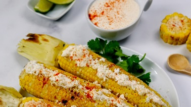 Elotes (Mexican Grilled Corn)