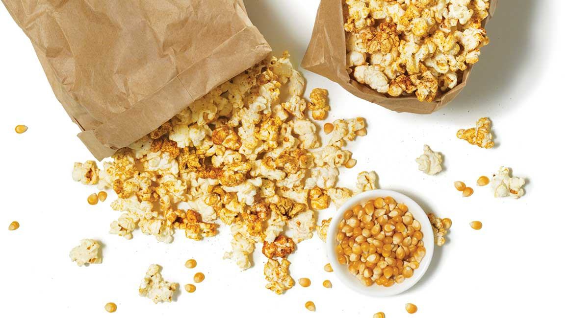 Mexican-style popcorn