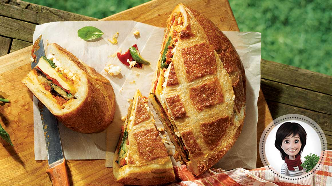 Picnic loaf from Josée di Stasio