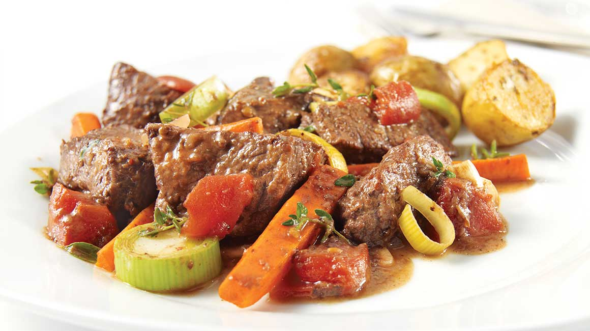 Thyme and Marjoram Beef Stew