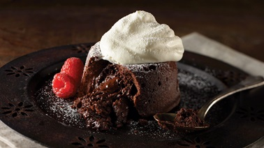 Lava chocolate cake from Stefano Faita