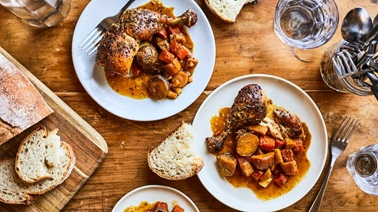 Geneviève O'Gleman's Slow-Cooker honey-mustard chicken