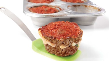 Mini meatloaf for little folks