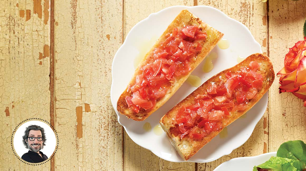 Catalan-style pan con tomate