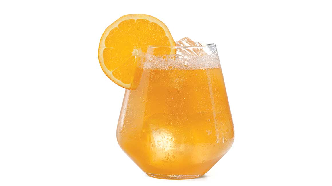 Orange shandy