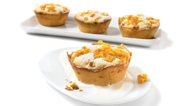 Persimmon mini pound cakes