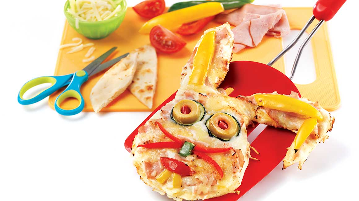 Fun-filled pizzas