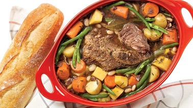 Red wine and rosemary pot roast