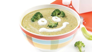 Yummy cream of broccoli soup