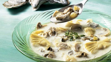 Autumn Oyster Soup